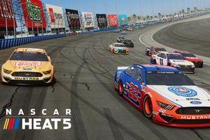 Скриншот компьютерной игры NASCAR Heat 5