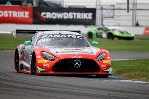#63 DXDT Racing Mercedes-AMG GT3 GT3: David Askew, Ryan Dalziel, Scott Smithson