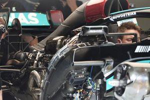 Le moteur Mercedes