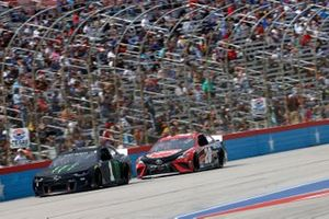 Kurt Busch, Chip Ganassi Racing, Chevrolet Camaro Monster Energy, Christopher Bell, Joe Gibbs Racing, Toyota Camry Rheem