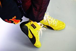 Shoes of Sergio Perez, Red Bull Racing