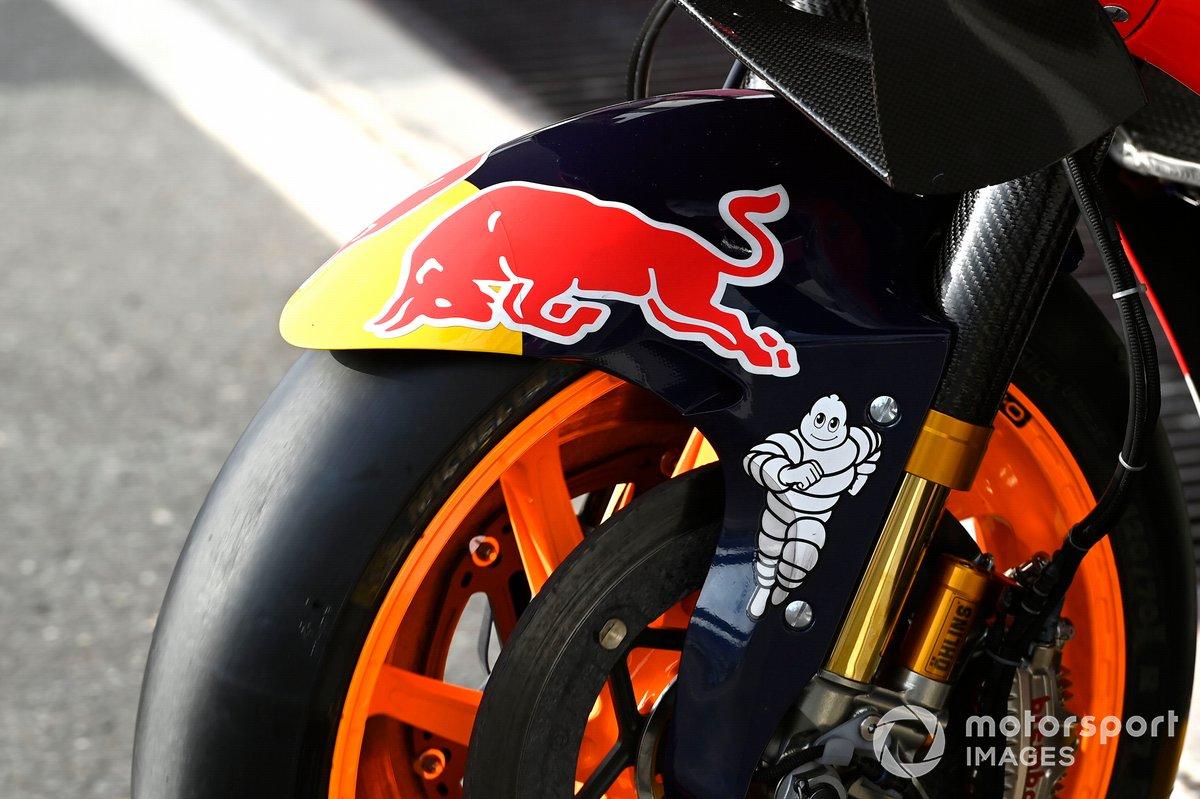 Dettagli della moto del Repsol Honda Team