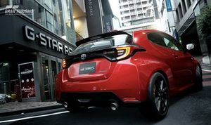 Imagen del Toyota GR Yaris de Gran Turismo Sport