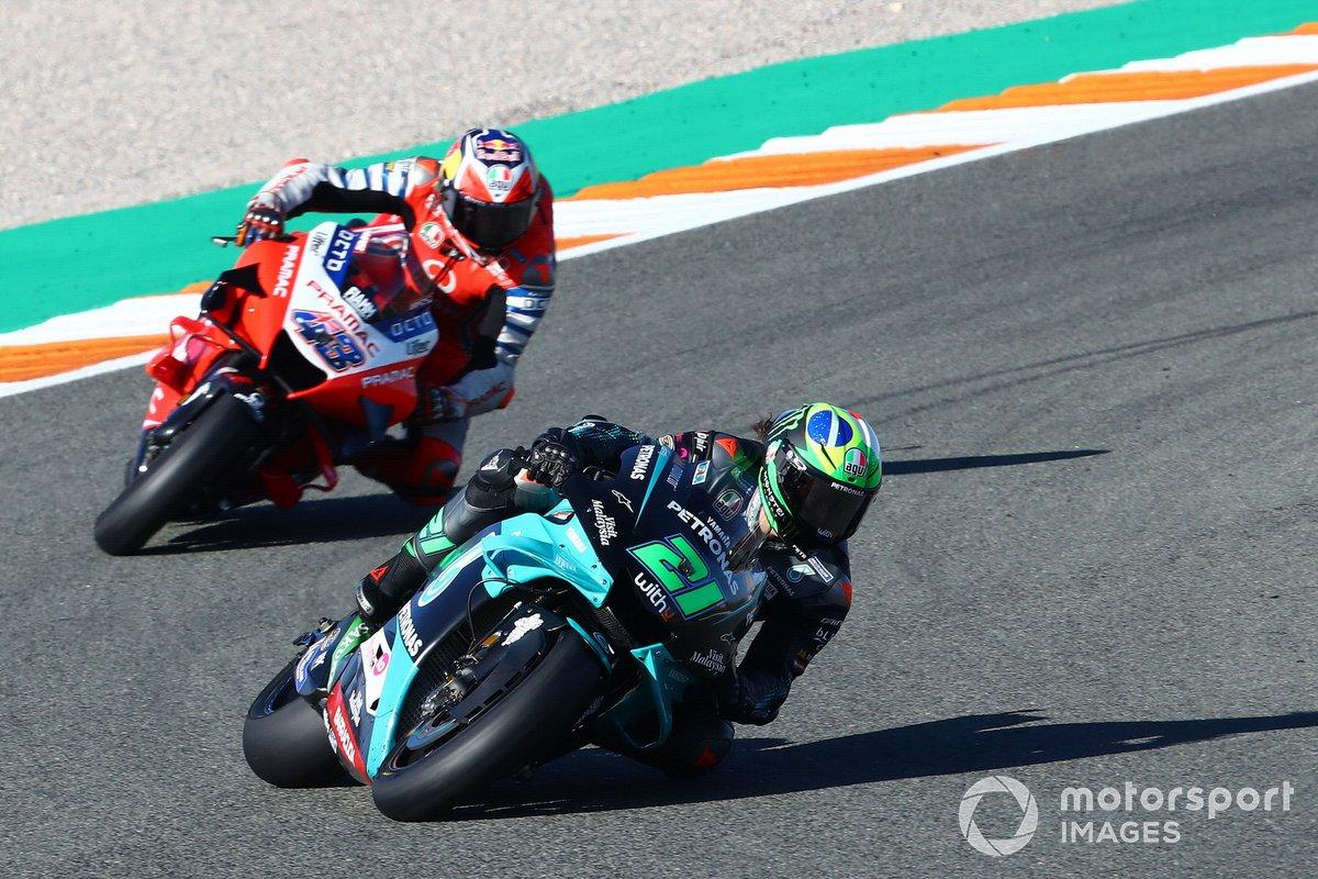 Franco Morbidelli, Petronas Yamaha SRT Jack Miller, Pramac Racing
