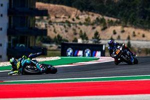 Accidente de Valentino Rossi, Petronas Yamaha SRT