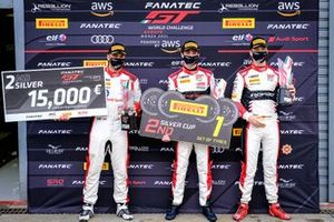 #30 Team WRT Audi R8 LMS GT3: Benjamin Goethe, Stuart Hall, James Pull
