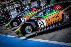 #63 Orange 1 FFF Racing Team Lamborghini Huracan GT3 Evo