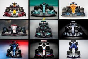 F1 2021 araçları