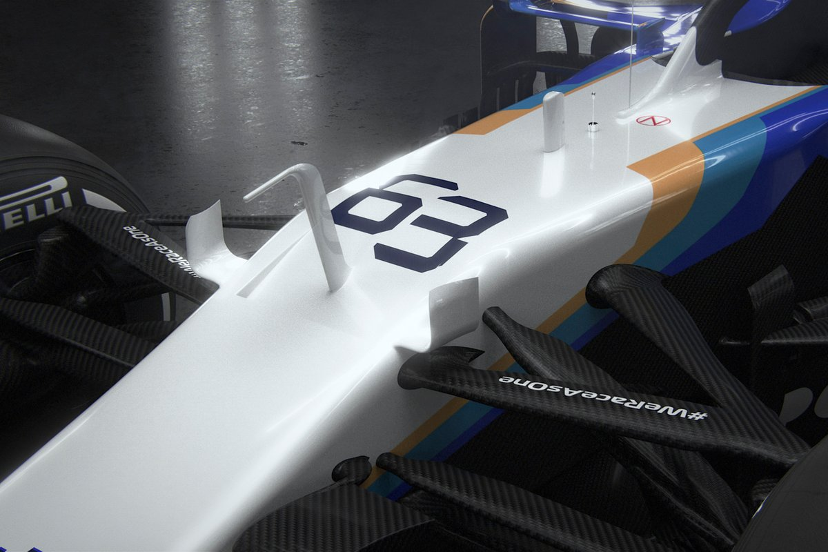 Detalle del Williams FW43B
