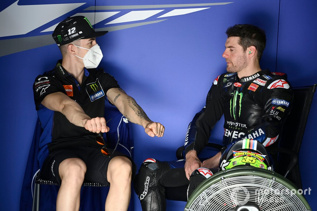 Maverick Vinales, Yamaha Factory Racing, Cal Crutchlow, Yamaha Factory Racing