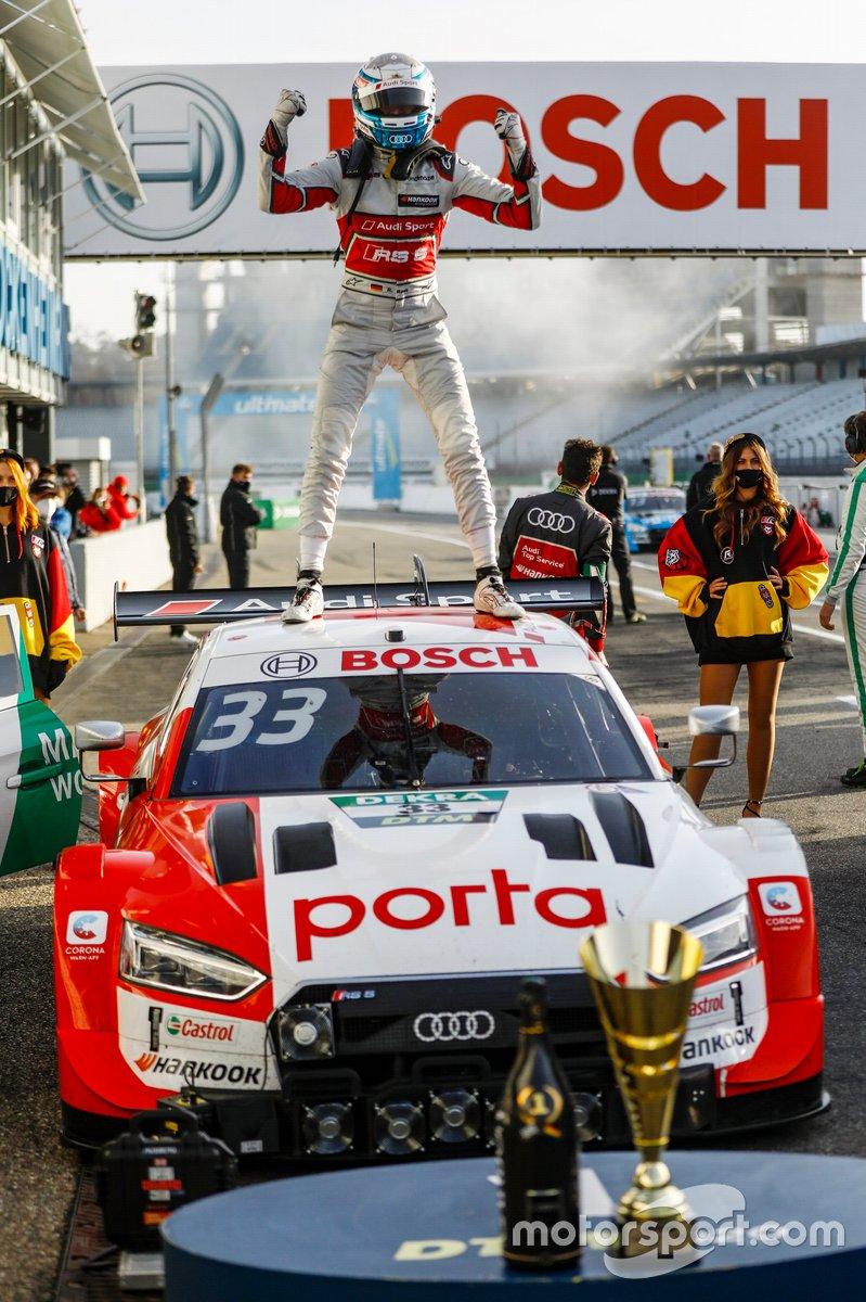 El ganador y campeón 2020: Rene Rast, Audi Sport Team Rosberg