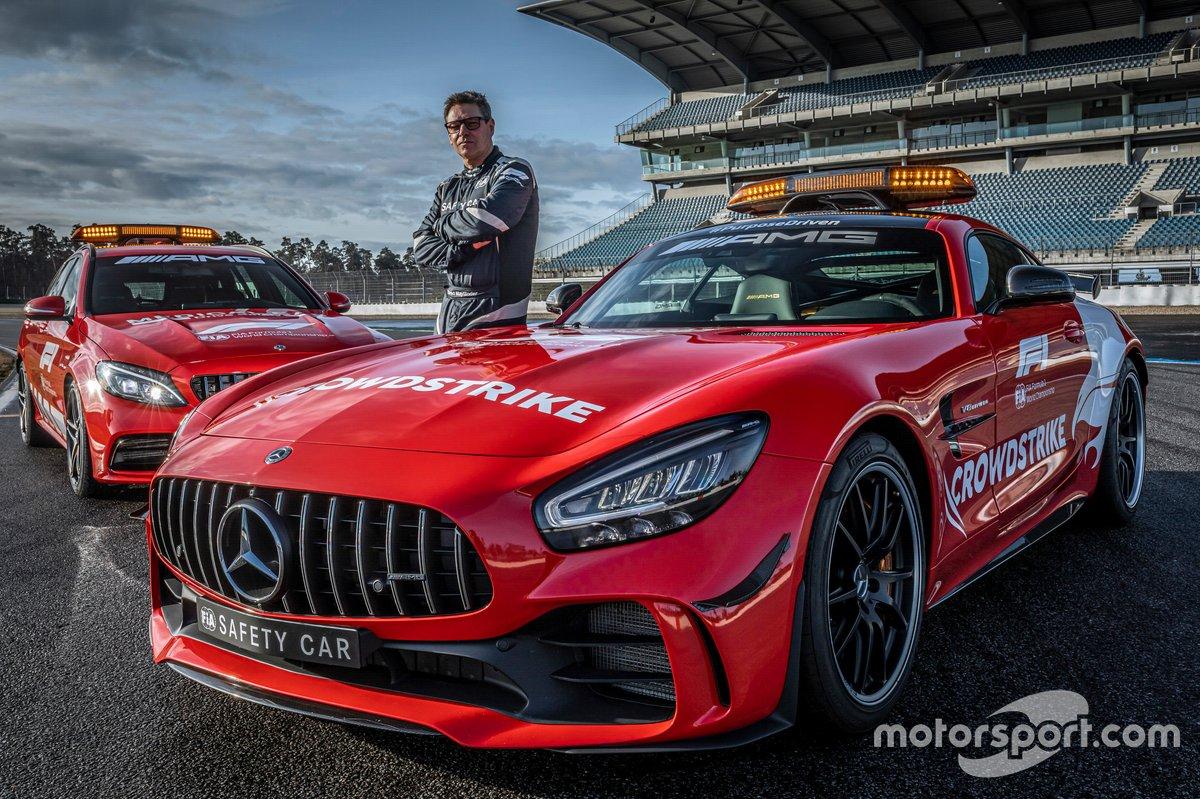 Mercedes-AMG Official FIA F1 Safety Car, Mercedes-AMG GT R con Bernd Mayländer