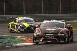 Alberto De Amicis, Mattia Di Giusto, Andrea Marchi, Ebimotors, Porsche 718 Cayman GT4