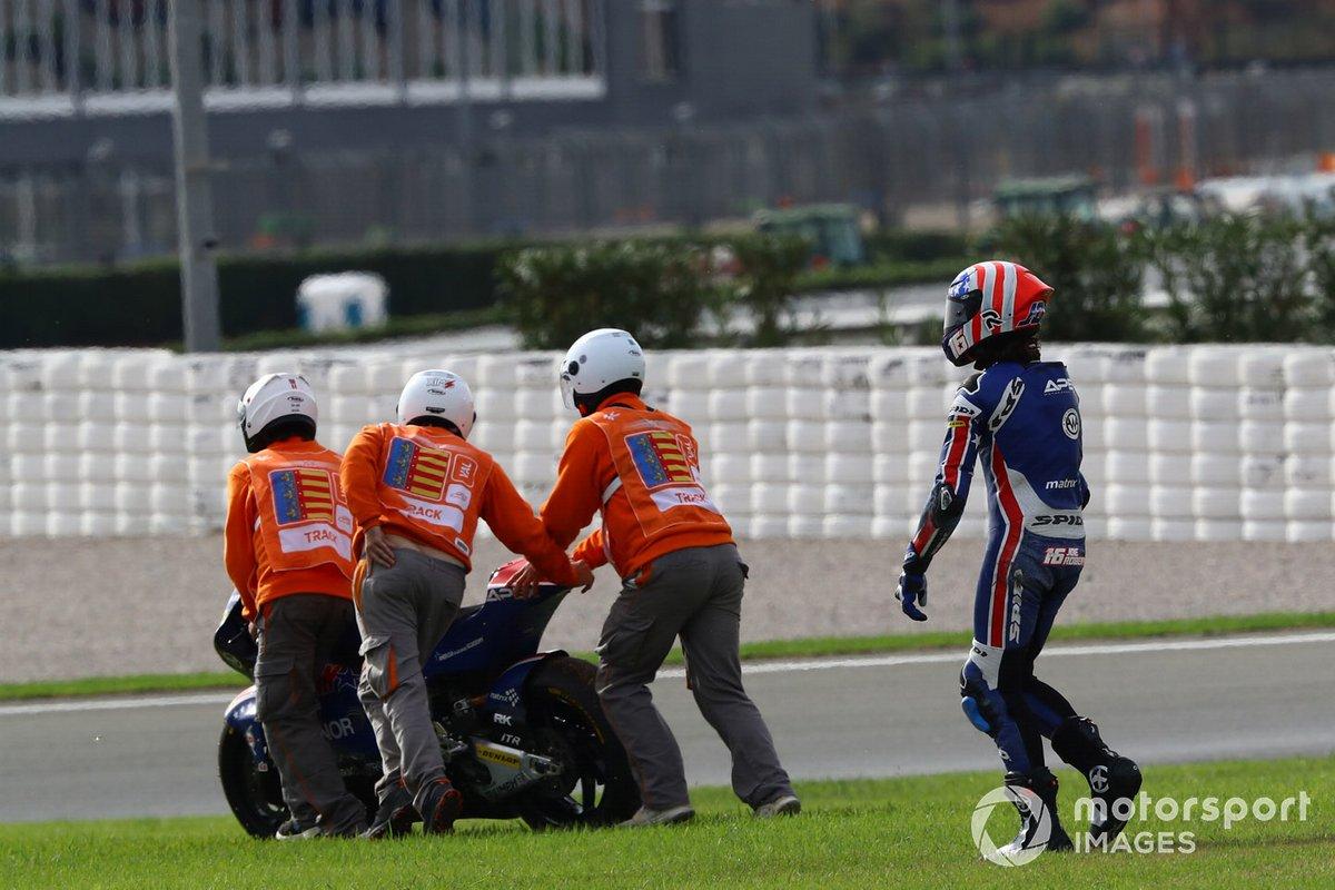 Joe Roberts, American Racing race crash