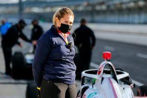 Paretta Autosport Chevrolet crew member