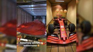 Ferrari подарила SF90 Шарлю Леклеру
