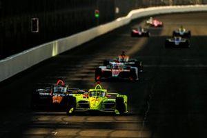 IndyCar-Test auf dem Indianapolis Motor Speedway