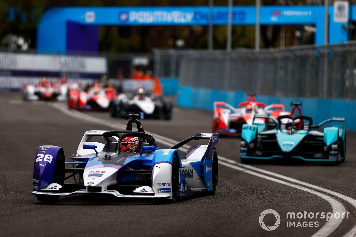 Maximilian Günther, BMW I Andretti Motorsports, BMW iFE.21, Mitch Evans, Jaguar Racing, Jaguar I-Type 5