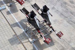 Alfa Romeo Racing C41 front wing detail