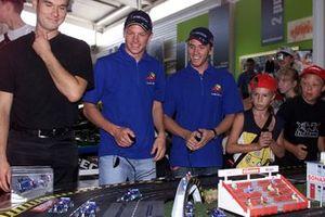 Kimi Raikkonen, Sauber with Nick Heidfeld, Sauber