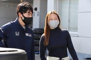 小山美姫 Miki Koyama(B-MAX ENGINEERING)、佐藤蓮 Ren Sato(TODA RACING)