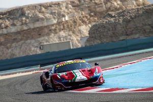 #51 AF Corse Ferrari 488 GTE EVO: James Calado, Daniel Serra