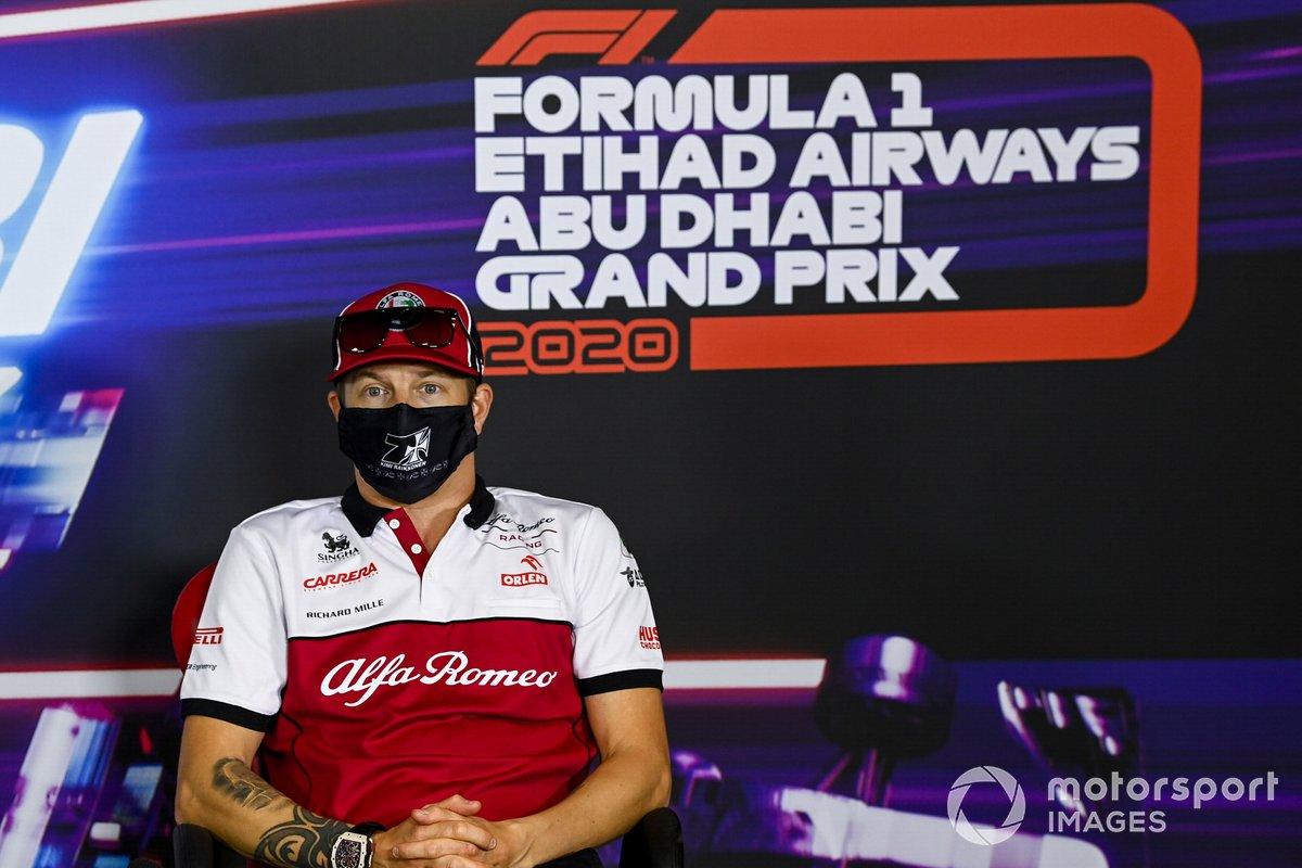 Más entradas en gran premio (332): Kimi Raikkonen, Alfa Romeo Racing C39 (GP de Abu Dhabi)