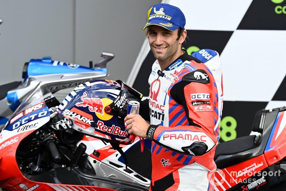 Tercer puesto Johann Zarco, Pramac Racing
