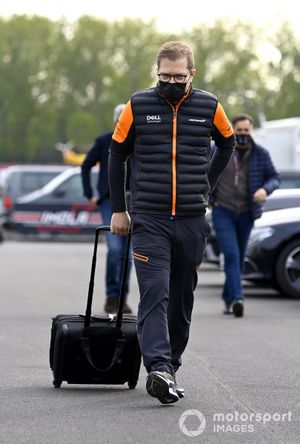 Andreas Seidl, director del equipo McLaren