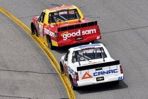 Zane Smith, GMS Racing, Chevrolet Silverado and Raphael Lessard, GMS Racing, Chevrolet Silverado CANAC