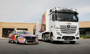 Triple Eight Race Engineering transporter