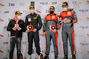 Podium: #45 Car Collection Audi R8 LMS GT3: Martin Lechman, Milan Dontje, Dennis Marschall