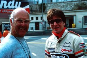 Murray Walker with Martin Brundle