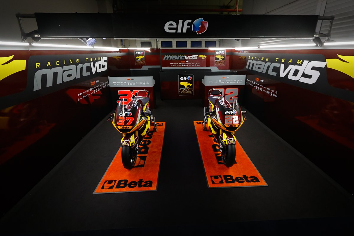 Bikes of Sam Lowes and Augusto Fernandez, Marc VDS Racing