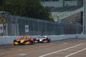 Ryan Hunter-Reay, Andretti Autosport Honda, Takuma Sato, Rahal Letterman Lanigan Racing Honda