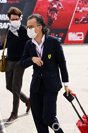 Лоран Мекис, гоночный директор, Ferrari
