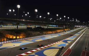 Sergio Perez, Red Bull Racing RB16B, Esteban Ocon, Alpine A521