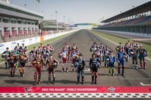 Les pilotes Moto2 pour la saison 2021
