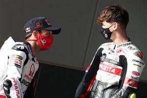 Johann Zarco, Pramac Racing, mit Lorenzo Fellon, Moto3