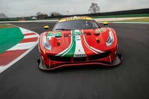 #52 AF Corse: Daniel Serra, Miguel Molina, Ferrari 488 GTE Evo