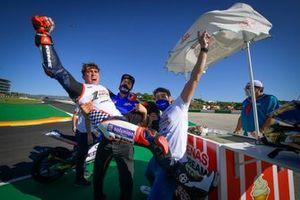 El campeón del mundo de Moto3, Albert Arenas, Aspar Team