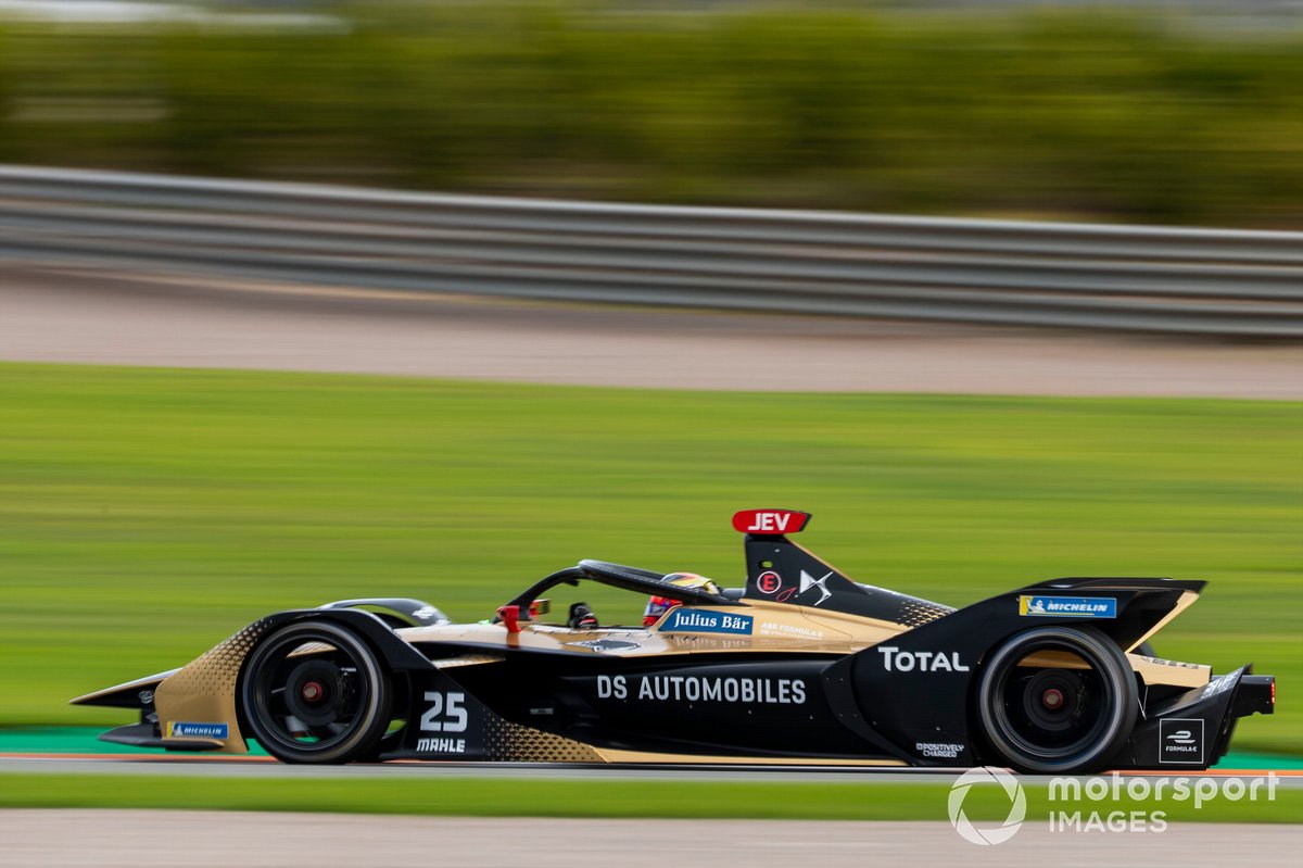 #25 - Jean-Eric Vergne (Team: DS-Techeetah, Antrieb: DS)