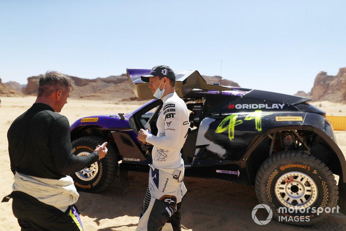 Sebastien Loeb, X44, and Mattias Ekstrom, ABT CUPRA XE