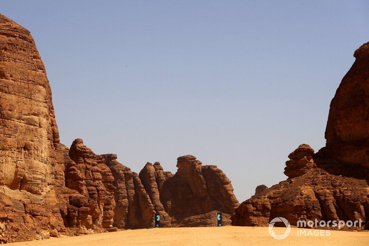La meta del Desert XPrix