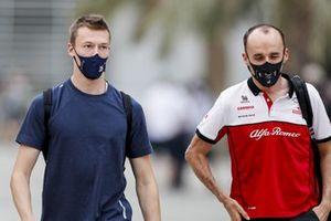 Daniil Kvyat, AlphaTauri en Robert Kubica, Alfa Romeo