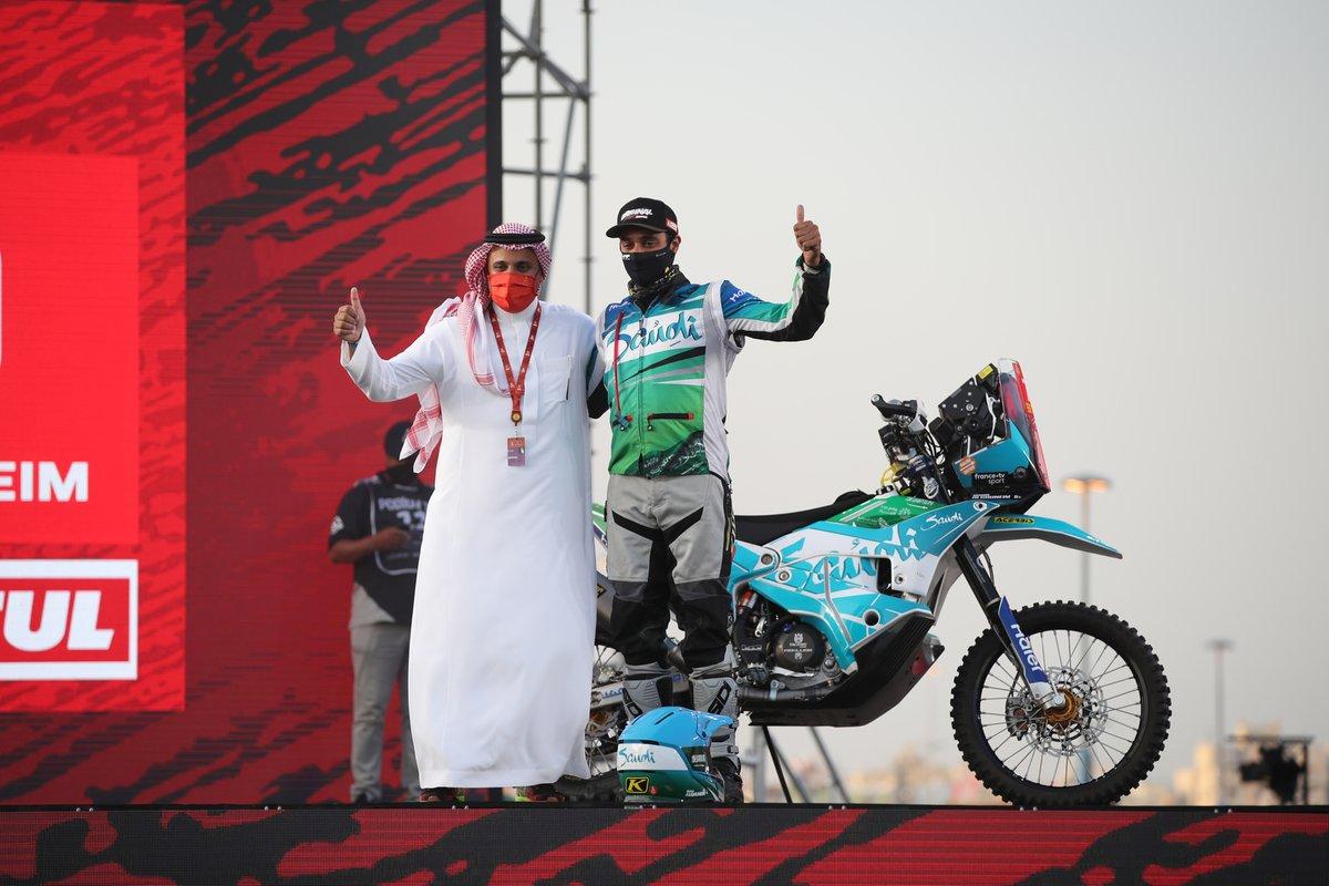 #70 Mishal Alghuneim KTM: Mishal Alghuneim
