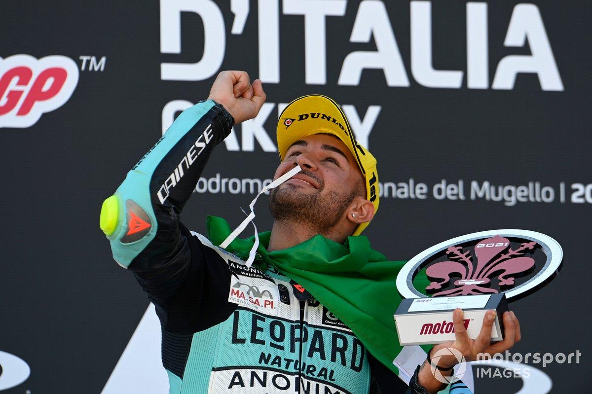 Ganador de la carrera Dennis Foggia, Leopard Racing