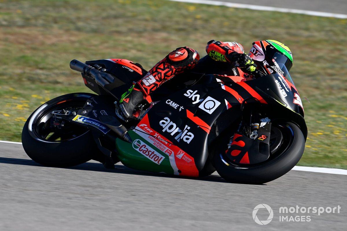Lorenzo Savadori, Aprilia Racing Team Gresini