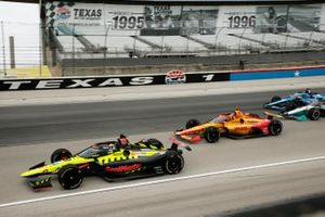 Ed Jones, Dale Coyne Racing with Vasser Sullivan Honda, Ryan Hunter-Reay, Andretti Autosport Honda