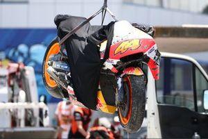 Pol Espargaro, Repsol Honda Team crash
